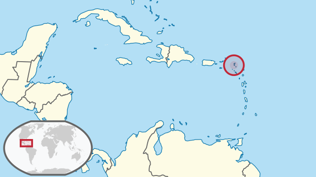 Saint Martin location map