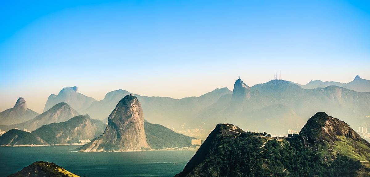 Rio De Janeiro Carioca Landscapes Brazil Lac Geo
