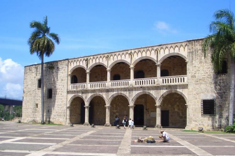 Alcázar de Colón in Ciudad Colonial, Santo Domingo (Dominican Republic)