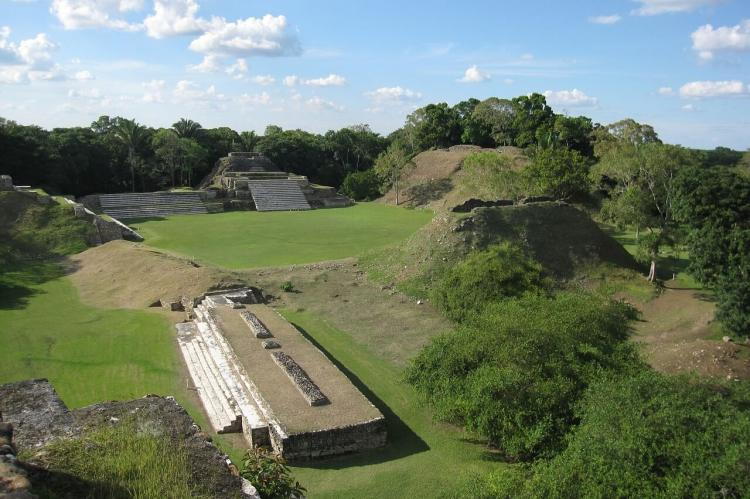 Mayan temple ruins at Altun Ha, Belize