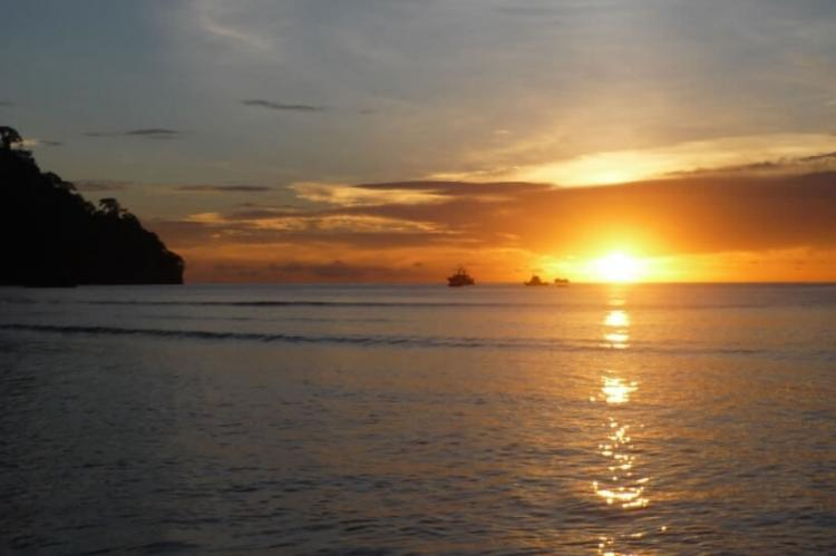 Wafer Bay Sunset, Cocos Island, Costa Rica