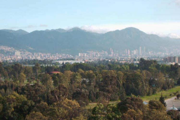 Bogotá, Colombia is located in a high plateau, over 8,600 ft (2,600 m) high