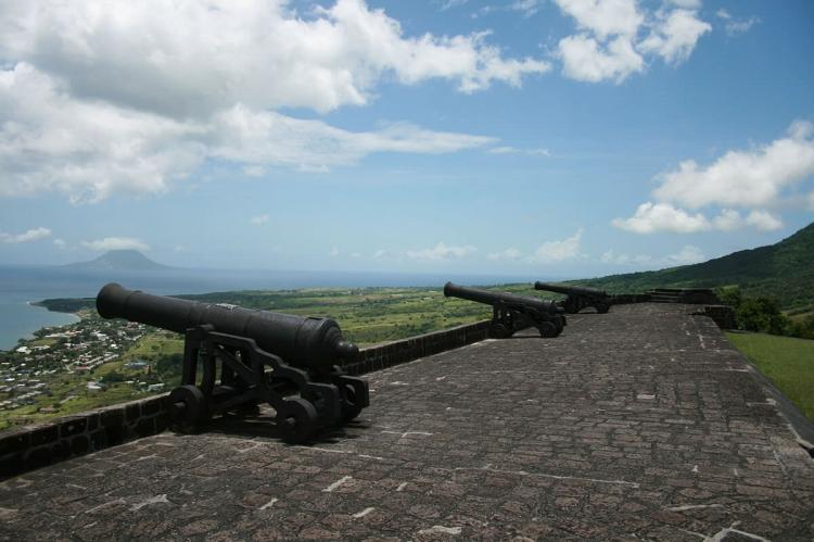 View from Brimstone Hill Fortress, Saint Kitts