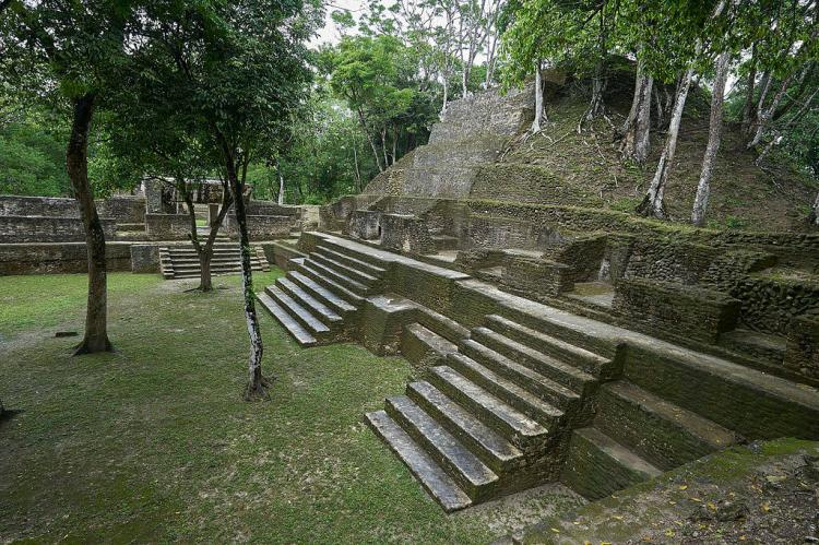 Cahal Pech - Archaeological site, San Ignacio, Belize