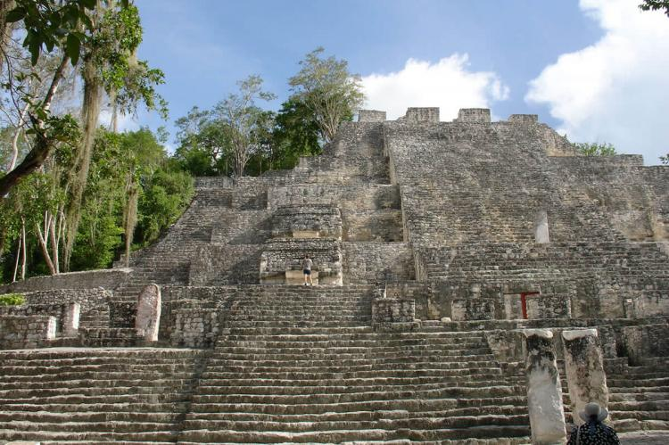 Archaeological zone of Calakmul, Campeche (Mexico)