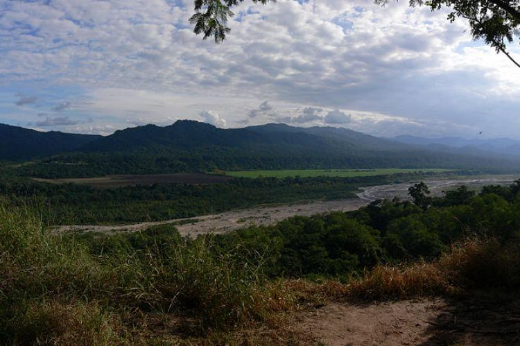 View of San Lorenzo River in Calilegua National Park, Jujuy, Argentina
