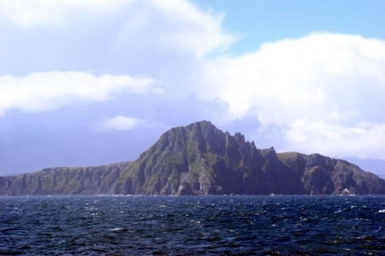 Cape Horn from the south, (Chile)