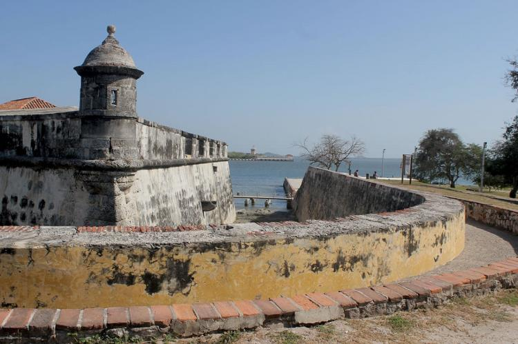Historic fort, Cartagena, Colombia