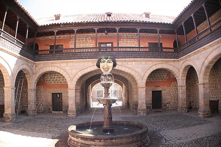 Patio at Casa de la Moneda, Potosí, Bolivia