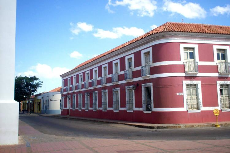 House of the 100 windows, current headquarters of the Cultural Institute of the State Falcón, Coro, Venezuela