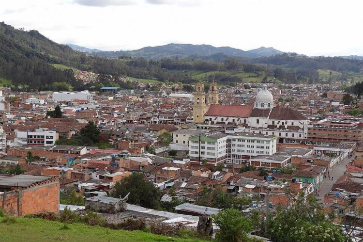 View of Chiquinquirá, Colombia