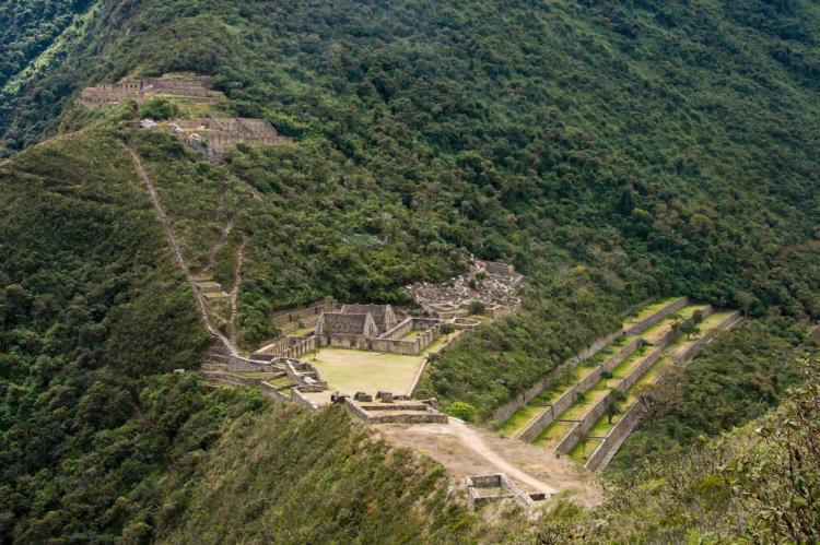 Choquequirao, Inca city, Peru