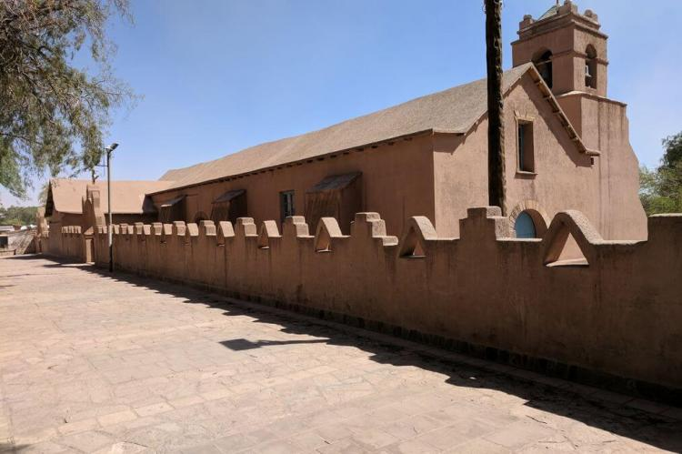 Church of San Pedro de Atacama, Chile