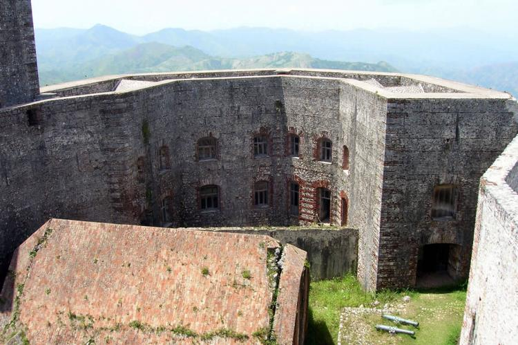 The Citadelle Laferrière, near Milot in Haiti