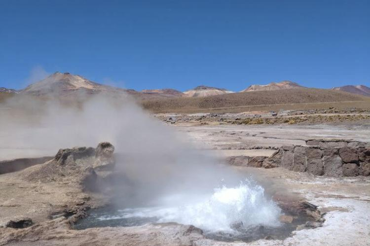 El Tatio geyser field, Atacama, Chile