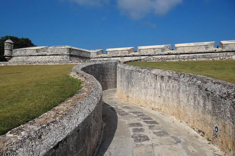 Fort of San Miguel, Campeche, Mexico