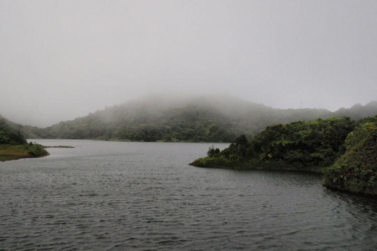 Freshwater lake in Morne Trois Pitons National Park, Dominica