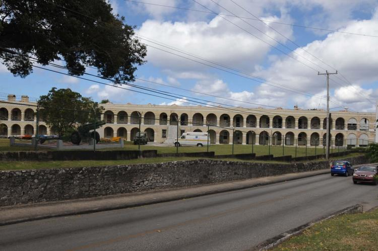 Garrison stone barracks, Bridgetown, Barbados historic district