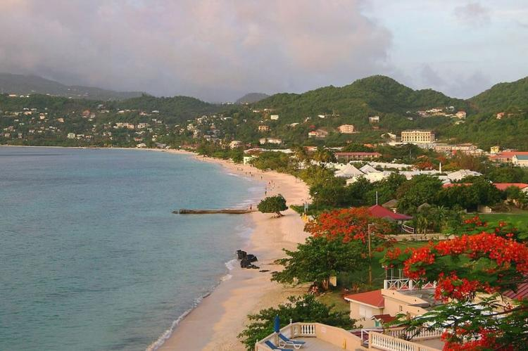 View of Grand Anse Beach, St. George's, Grenada