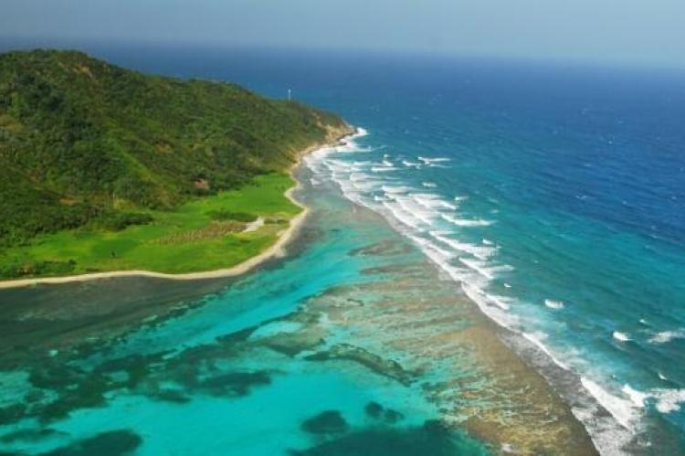 Guanaja, one of the Bay Islands off the north coast of Honduras in the Caribbean