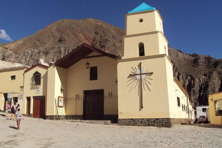 Church of Iruya (Salta), Argentina