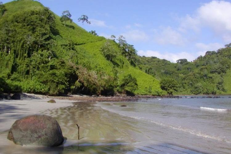 Chatham beach on Cocos Island, Costa Rica