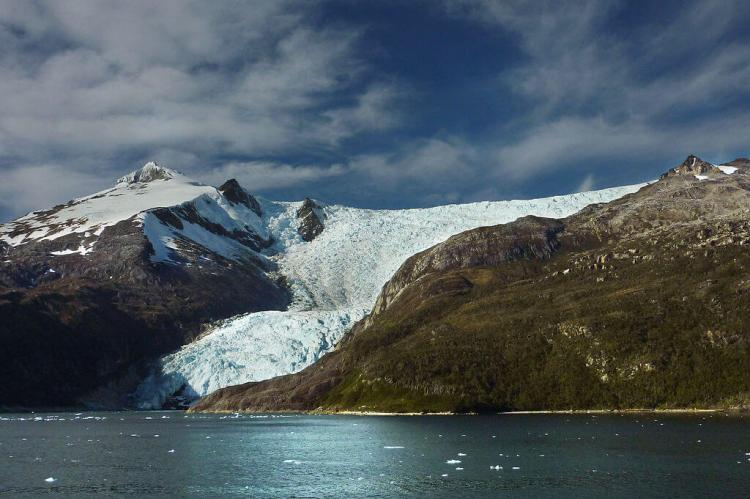 Italia Glacier, Beagle Channel, Chile