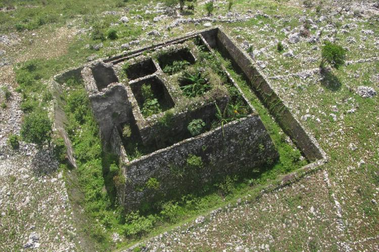 Defensive tower around the citadel of King Henri Christophe, Haiti