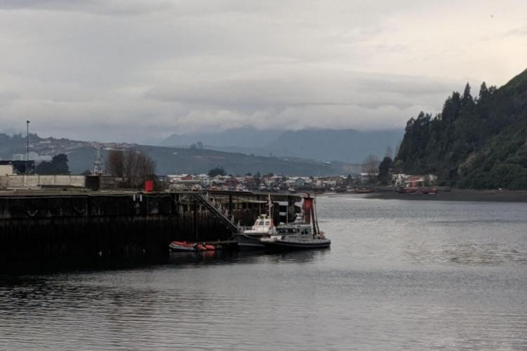 Lago Llanquihue from Puerto Montt, Chile