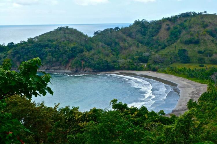 Nicoya Peninsula coastline view, Costa Rica