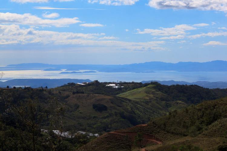 View of Nicoya Peninsula, Costa Rica