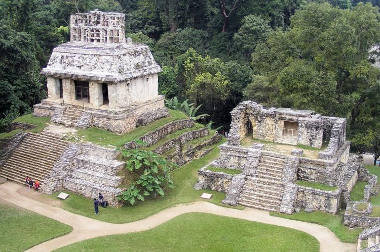 Palenque archaelogical site, Mexico