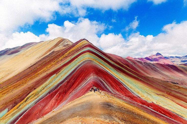 Vinicunca or Rainbow Mountain, Peru