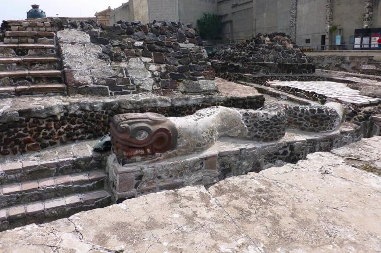 Ruins of the Templo Mayor  (Mexico City, Mexico)