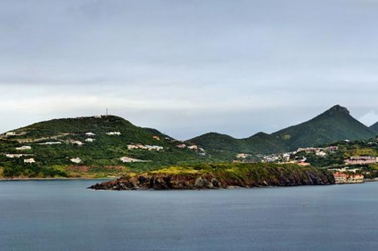 Approaching Philipsburg, St Maarten