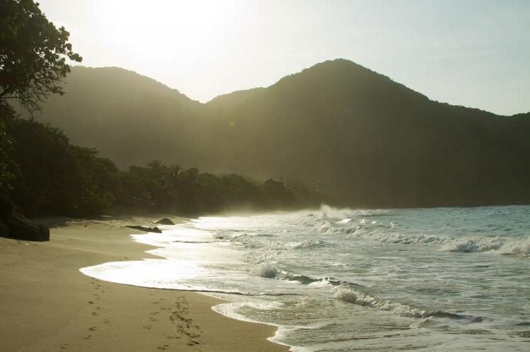 Caribbean coastline of Tayrona National Park, Colombia