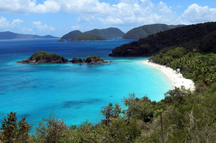 Trunk Bay, St. John (Virgin Islands National Park, U.S. Virgin Islands)