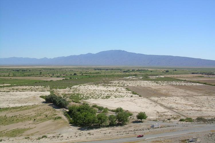 View of the Cuatrociénegas Valley, Mexico