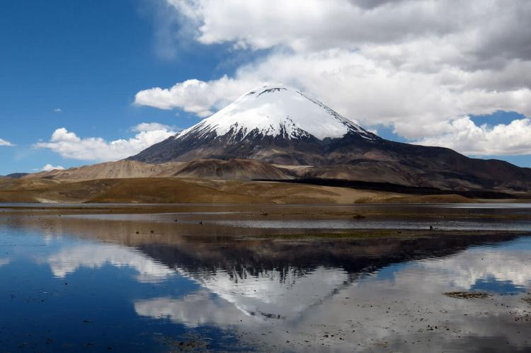 Parinacota Volcano, Lauca National Park, Chile