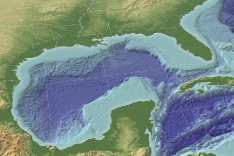 The Gulf of Mexico in 3D