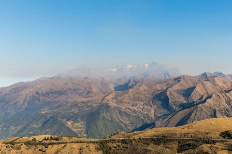 View of the Andes, Abancay, Peru
