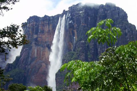 Salto Angel (Angel Falls) - World's Highest Waterfall - Canaima National Park, Venezuela