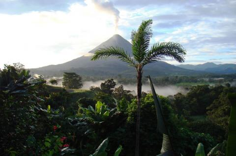 Arenal volcano, Agua y Paz (Water and Peace) Biosphere Reserve, Costa Rica