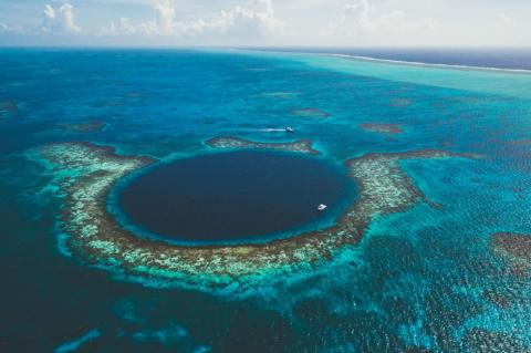 Great Blue Hole, Belize Barrier Reef Reserve System