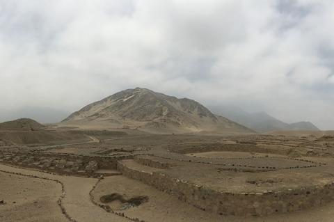 Sacred city of Caral-Supe, Peru