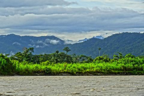 Clouds over forest, Manú National Park & Biosphere Reserve, Peru