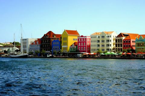 Historic Willemstad Harbor, Curacao