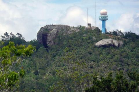 "View of ""Great Rock"", Gran Piedra (Cuba)"