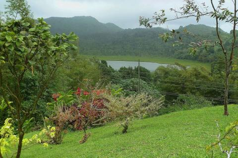 Grand Etang Lake, Grand Etang National Park and Forest Reserve (Grenada)