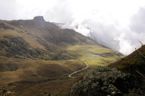 Los Nevados National Park in the Coffee Triangle (Colombia)